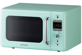Retro Toaster Ovens Daewoo Retro Microwave Oven 0 7 Cu Ft Mint Green 700w