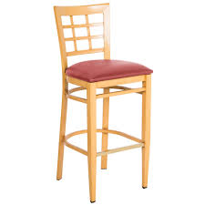 Red Bar Stools With Backs Lancaster Table U0026 Seating Spartan Series Bar Height Metal Window