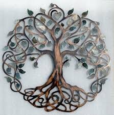 Wall Decor Metal Tree Decorative Metal Wall Art Yonohomedesign Com