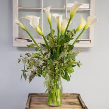 calla lilies bouquet calla bouquet in cambridge ma coady florist