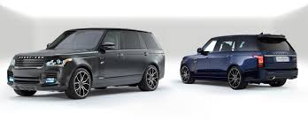 overfinch creates two range rover suvs for the london and