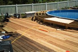 barry u0027s pool deck deck project