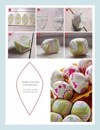 fabric easter eggs by book or by cook a cookery blog