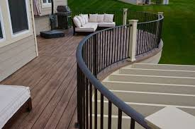 deck railing options 4qdb minneapolis custom deck builders