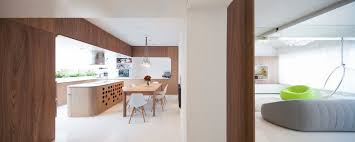 fabulous kitchen island with built in wine racks plus white eames