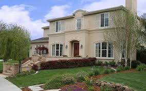 beautiful exterior design also spacious garden best spanish