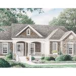 avondale craftsman style ranch house plan stone accents building