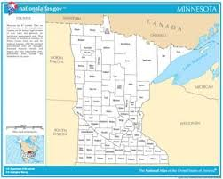 mn counties map map gallery