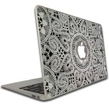lace accessories macbook air or macbook pro 13 inch vinyl removable skin