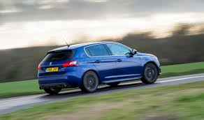 peugeot 308 gti blue peugeot 308 gti preview in pictures 1 evo