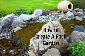 how to make a small rock garden