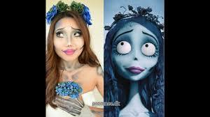 halloween zombie bride makeup corpse bride emily makeup halloween makeup ide 2016 เจ าสาวศพ
