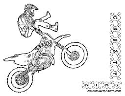bmx coloring page coloring home