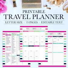 travel planning images Travel planner printable jessica marie design jpg