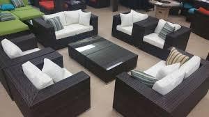 Patio Furniture California by California Deluxe 8 Piece Outdoor Wicker Patio Furniture Set U2013 San