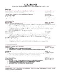 mba resume examples resume format for undergraduate resume for your job application updated