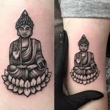 small buddha by tess at ink