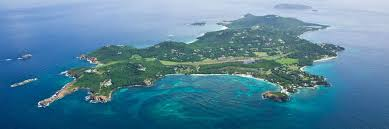 Eastern Caribbean Map by Private Islands For Rent Mustique Island St Vincent And The
