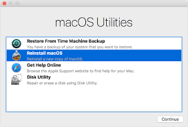 how to reinstall macos apple support
