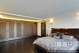 Transitional Style Bedrooms by Custom Interior Solid Wood Double Doors Custom Ridges