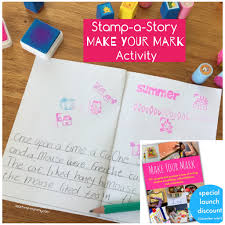 printable story writing paper stamp a story teach me mommy make your mark