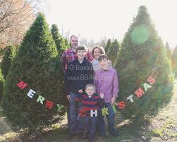 family photos on location at a local christmas tree farm we had a