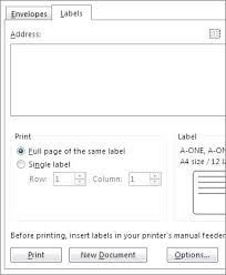 printing address labels on excel printing address labels from excel how to print labels with mail