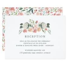 reception invitation reception invitations announcements zazzle
