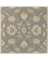 Square Wool Rug Amazing Deal On Hand Tufted Brigham Wool Rug 8 U0027 Square Grey