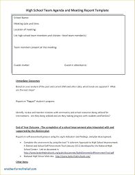 improvement report template school development plan template