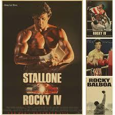 Cheap Retro Home Decor Online Get Cheap Vintage Poster Rocky Aliexpress Com Alibaba Group