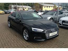 audi crawley used cars used audi a5 diesel sportback 2 0 tdi 150 s line 5dr privacy glass