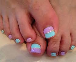easy nail art for toes easy nail art designs for toes how you can do it at home pictures