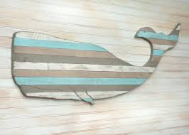 pallet whale wooden nautical house decor within best