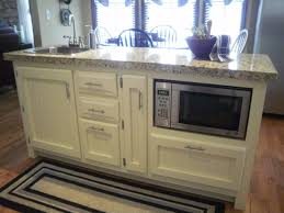 microwave in kitchen island cool superb fascinating microwave in kitchen island spaces