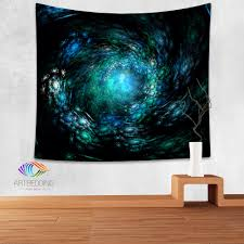 decor 76 3d wall art for contemporary homes galaxy tapestry blue