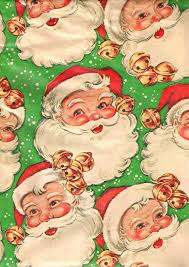 vintage christmas wrapping paper vintage christmas wrapping paper 1950s santa claus jakki flickr