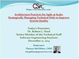 architecture practices for agile at scale strategically managing