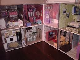 printable barbie house furniture 75 best how to make a barbie house from cardboard boxes images on