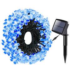 solar string lights magicfly flower solar string lights waterproof 100 led 39 1ft