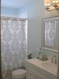 Threshold Medallion Shower Curtain by Blue Gray Shower Curtain Shower Curtain Rod