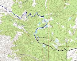 Colorado State Map by Mount Elbert Colorado State Highpoint Information