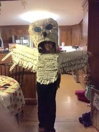 Snowy Owl Halloween Costume 109 Maker Club Images Cardboard Sculpture