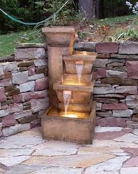 Backyard Water Fountain by 139 Best Garden Water Feature Images On Pinterest Gardening