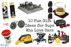 10 gift ideas for guys who cars cheaps