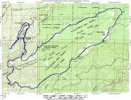 Yosemite Topo Map Yosemite Area