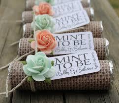 ideas for wedding favors unique mint wedding favors unique wedding favors unique