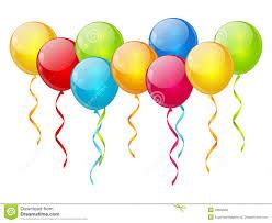 birthday balloons border clipart no background