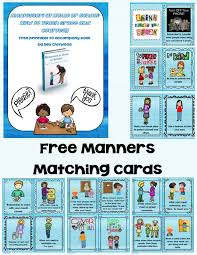 table manners for kids printable learning about manners free printables and ideas
