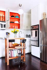 Painting Inside Kitchen Cabinets 37 Best Cocinas Pequeñas Images On Pinterest Kitchen Ideas
